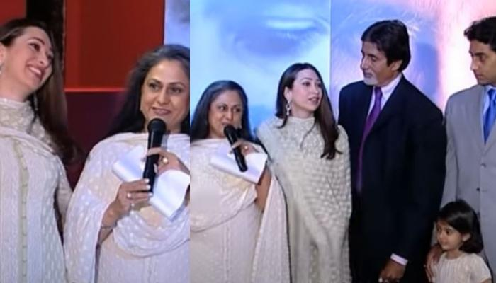 When Jaya Bachchan Introduced Karisma Kapoor As 'Bahu' And She Flaunted Her Engagement Ring [VIDEO]