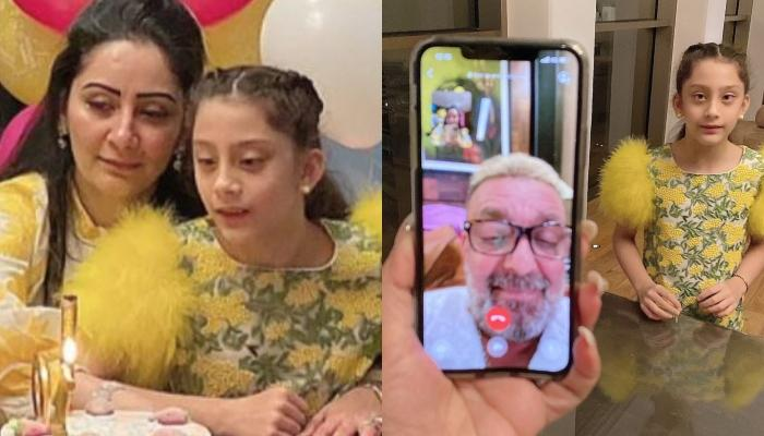 Maanayata Dutt Shares Her Twins' 10th Birthday Celebration Pictures, Cuts A Unique Cake