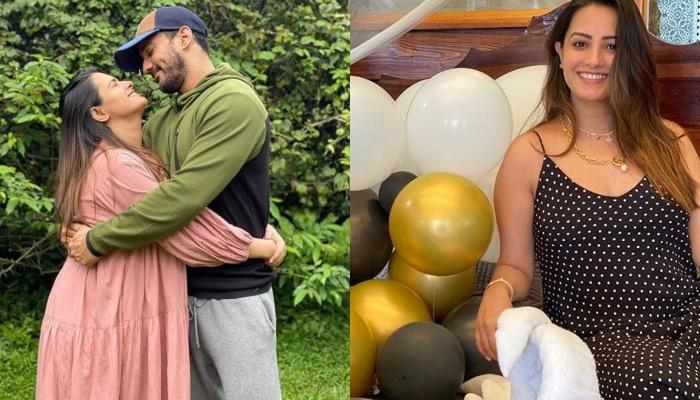 Pregger Anita Hassanandani Craves For Coffee And Wine, Looks Super Cute As She Makes A Puppy Face