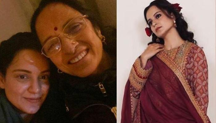 Kangana Ranaut Wearing Her Mother's 'Vintage Earrings' For Her Brother's 'Haldi' Proves Old Is Gold
