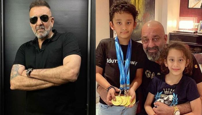 Sanjay Dutt Wins Battle Against Cancer, Reveals The Good News On Twins, Shahraan And Iqra's Birthday