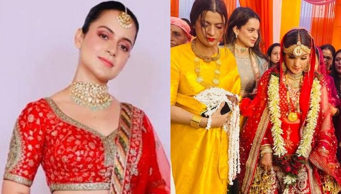 Kangana Ranaut's 'Bhabhi', Anjali Chauhan Donned An Oversized Nose Ring For Her 'Pahadi Dhaam'