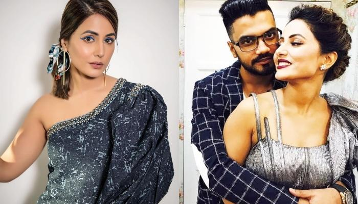 Hina Khan's Beau, Rocky Jaiswal Showers Love On His Girlfriend After She Returns From 'Bigg Boss 14'