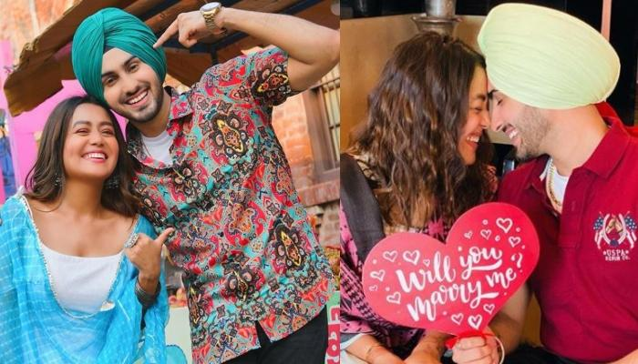 Neha Kakkar Flaunts Her Sparkling Engagement Ring In The Proposal Photos With Beau, Rohanpreet Singh