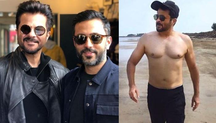 Sonam Kapoor's Hubby, Anand Ahuja Is Amazed By Anil Kapoor's Shirtless Pictures And Fitness Journey