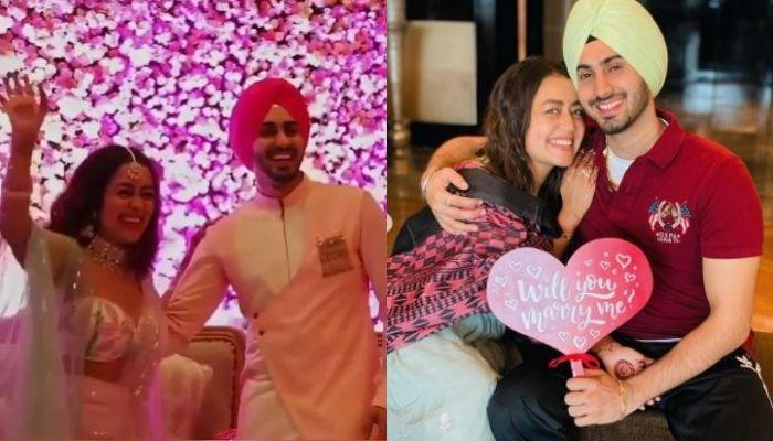 Neha Kakkar And Rohanpreet's Wedding Desserts Have Their Picture On It, Sister, Sonu Shares A Video