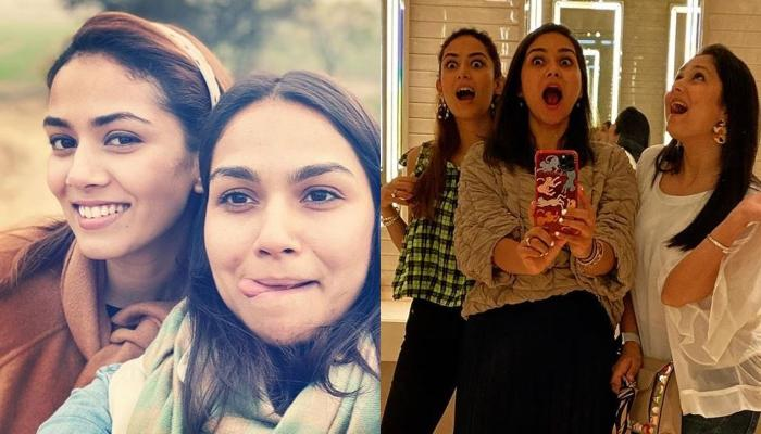 Mira Rajput Kapoor Reunites With Her Sister Noor Wadhwani, The Gorgeous Sisters Click Goofy Pictures