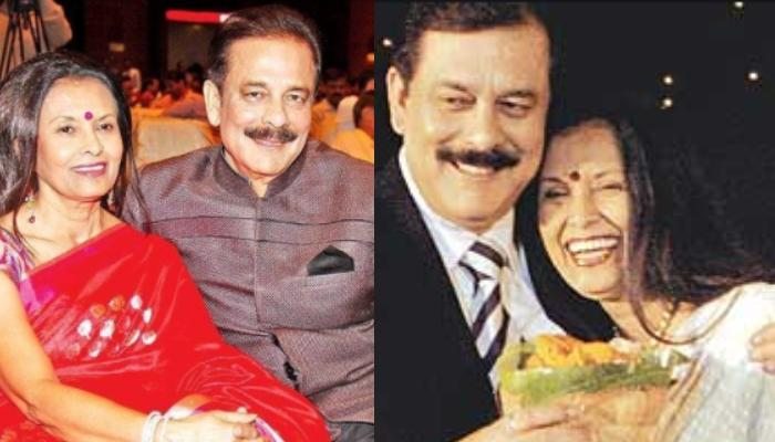 Subrata Roy's Untold Love Story: When He Mortgaged Wife, Swapna Roy's Jewellery For His Business