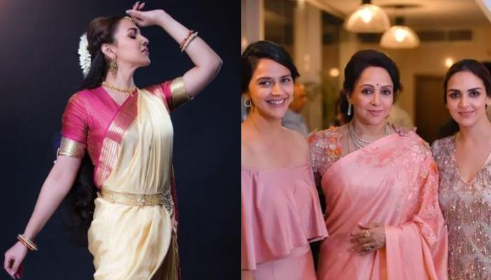 Esha Deol Shares Photo From Her Dance Performance With Mother, Hema Malini And Sister, Ahana Deol
