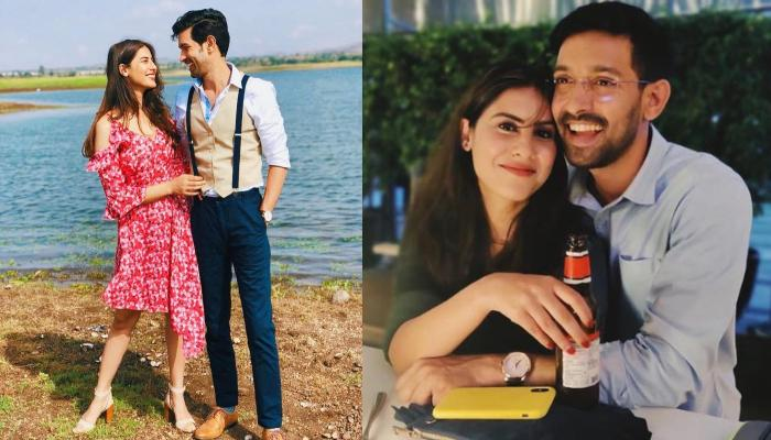 Vikrant Massey Wishes His Fans 'Happy Ashtami' With A Cutesy Photo With Girlfriend, Sheetal Thakur