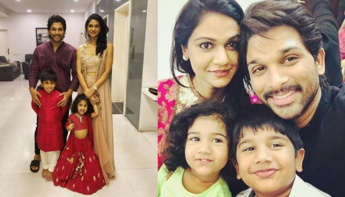 Allu Arjun Shares Family Photo On Dussehra In Traditional Attire And It's An Epitome Of Family Goals