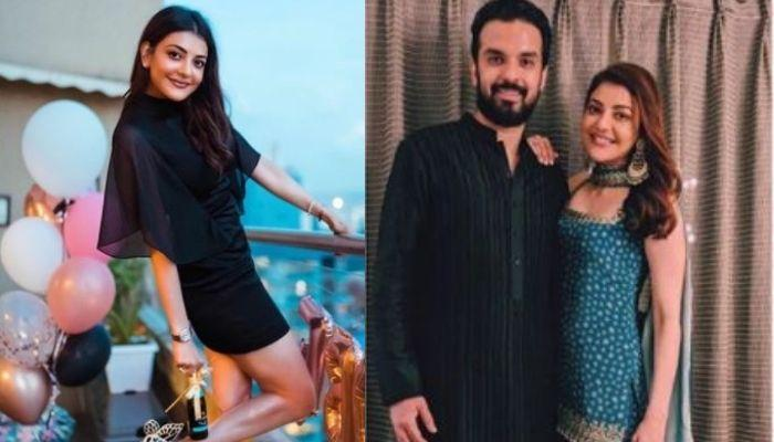 Kajal Aggarwal Radiates Pre-Wedding Happiness As She Poses With Her Hubby-To-Be, Gautam Kitchlu