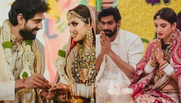Rana Daggubati And Miheeka Bajaj Celebrate Their First 'Dusshera' Together Post-Wedding [Pictures]