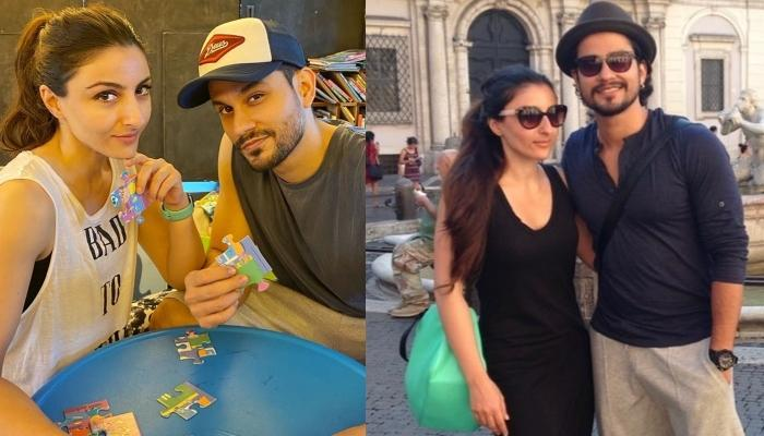 Soha Ali Khan Shares A Hilarious Video Of Hubby, Kunal Kemmu Getting A Permanent Tattoo