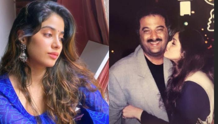 Janhvi Kapoor Misses Late Mother, Sridevi, Shares An Unseen Picture Of Her Hugging Boney Kapoor