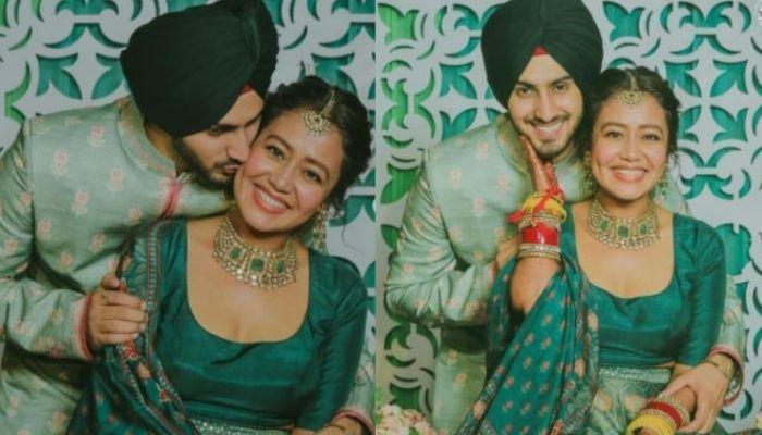 Rohanpreet Singh Flaunts Wifey, Neha Kakkar's Name In His 'Mehendi', Neha Looks Highly Impressed