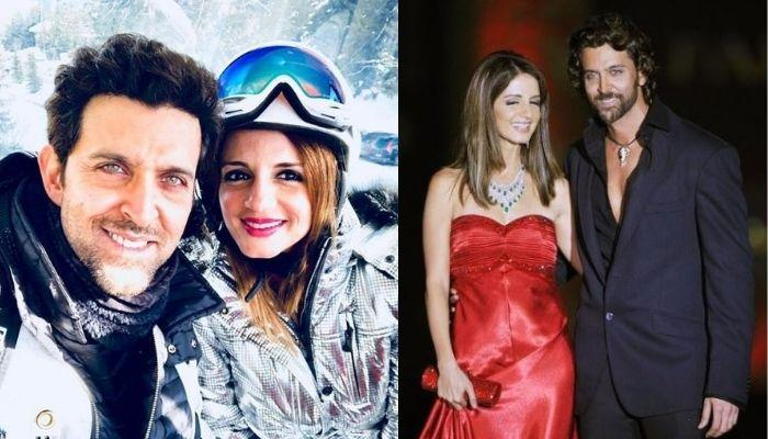 Hrithik Roshan Stunned By Ex-Wife, Sussanne's Birthday Look, Their Banter Speaks Of Their Love