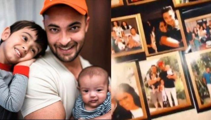 Aayush Sharma Poses With Kids, Ahil And Ayat On 30th Birthday, His Cakes Narrate Different Stories