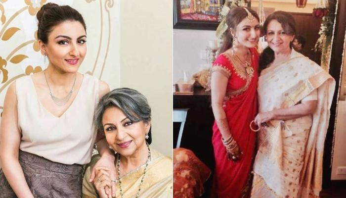 Soha Ali Khan Shares An Unseen Monochrome Picture Of Her Mother, Sharmila Tagore From Her Wedding