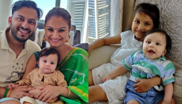 Dimpy Ganguly's Baby Boy Aryaan Looks Adorable As He Tastes His First Solids On Annaprashan Ceremony