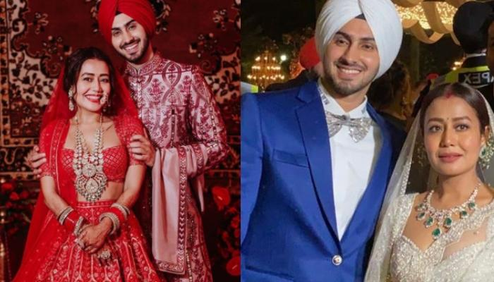 Neha Kakkar And Rohanpreet Singh Singing A Romantic Song At Their Wedding Reception Is Pure Goals