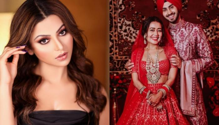 Cost Of Urvashi Rautela's Leather Lehenga And Jewellery At Neha Kakkar's Wedding Will Blow Your Mind