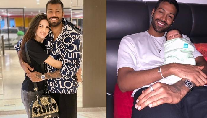 Hardik Pandya Shares A Super Adorable Picture With His Son, Agastya, Calls Him 'The Greatest Gift'