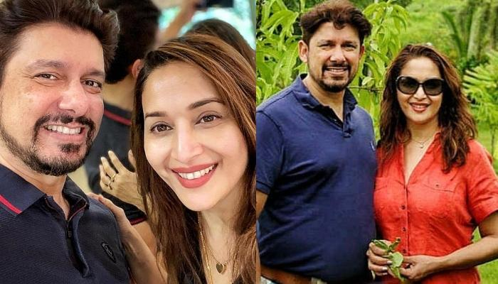 When Madhuri Dixit And Her Hubby, Shriram Nene Had Taken The Accent Challenge In The Lockdown Days