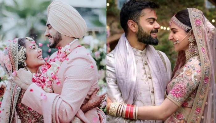Neha Kakkar Trolled For Copying Anushka Sharma, Priyanka Chopra And Deepika Padukone's Wedding Looks