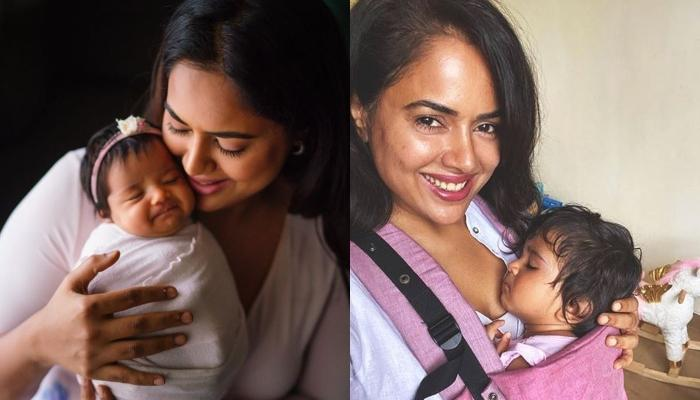 Sameera Reddy Shares The First Photo Of Her Baby, Nyra From Hospital, Calls It 'Jab We Met' Moment