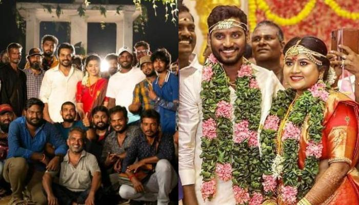 Karthi And Rashmika Mandanna's 'Sulthan' Director, Bakkiyaraj Kannan Gets Married To Asha In Chennai