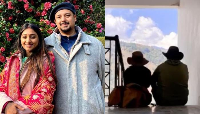Mohena Kumari Singh 'Staring At The Screen' With Hubby, Suyesh Proves Their Love For Mother Nature