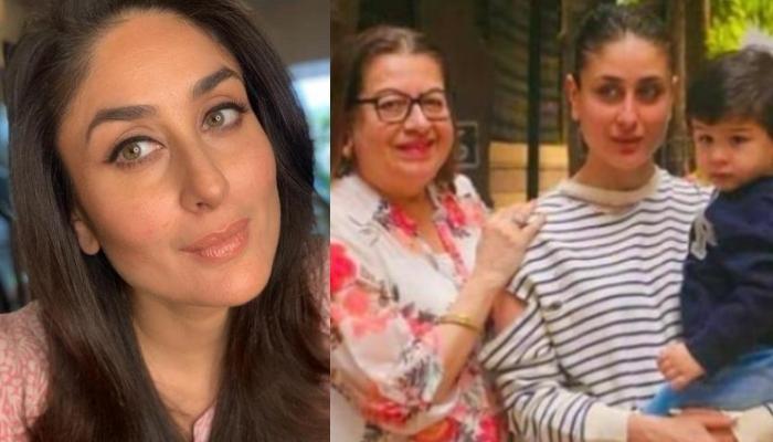 Preggars Kareena Kapoor Enjoying A Head Massage From Mommy, Babita Is Every Mother-Daughter Duo