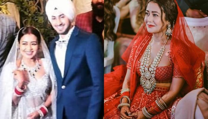 Just Married Neha Kakkar's Reaction On Her Hubby, Rohanpreet's 'Ex Calling', Brother Tony Comments