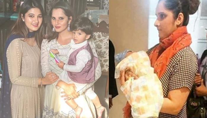 Anam Mirza Posts A Video Of Sister Sania Mirza Just Before She Delivered Her Son Izhaan Mirza Malik