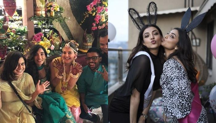 To-Be Bride, Kajal Aggarwal's 'Pyjama Party' With Her Bridesmaids Is Everything A Bride Needs [Pics]