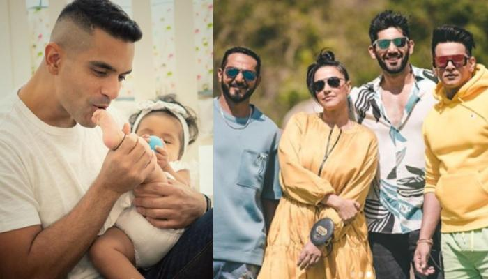 Neha Dhupia Gets A Competitor For Roadies, Hubby, Angad Bedi Shares A Glimpse Of The New Gang Leader