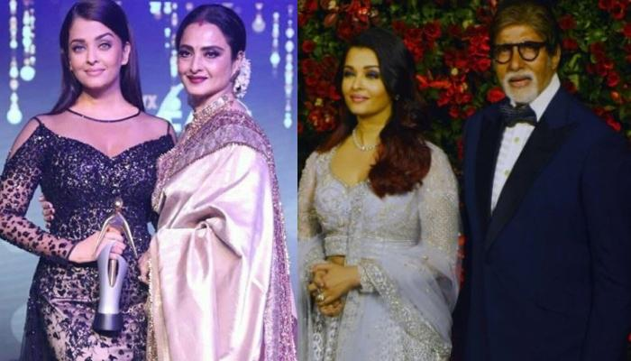 When Rekha 'Ma' Had Penned A Letter For Amitabh Bachchan's Daughter-In-Law, Aishwarya Rai Bachchan