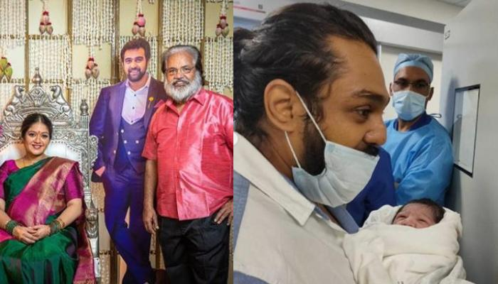 Late Chiranjeevi Sarja And Meghana Raj's Baby Boy Gets A Cute Nickname From His Maternal Grandfather