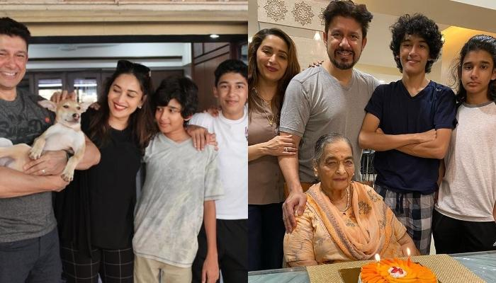 Madhuri Dixit Shares Unseen Throwback Pictures Of Her Kids, Arin And Rayn In Halloween Costumes