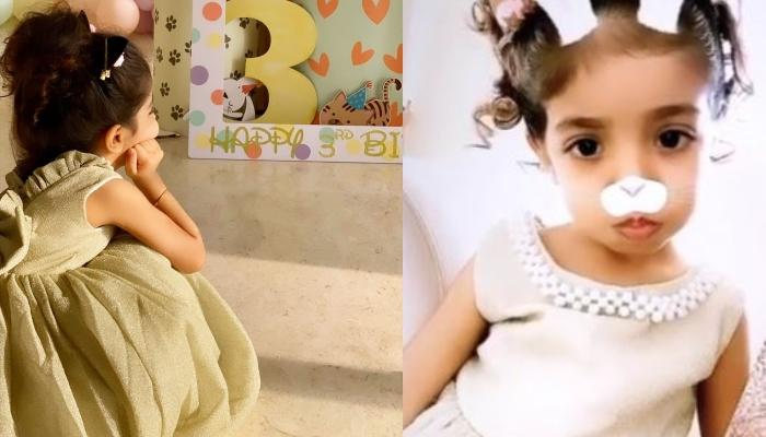 Asin Thottumkal's Daughter, Arin Rayn's Third Birthday 'Pawty' Pictures And Videos Are Paw-Dorable