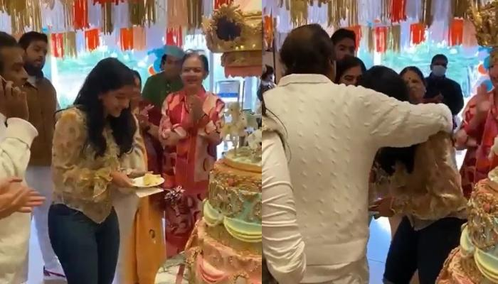 Radhika Merchant Celebrates Her Birthday With Ambani Clan, Takes Blessings Of Mukesh And Nita Ambani