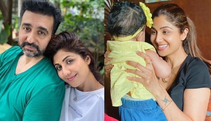 Shilpa Shetty Kundra's Hubby, Raj Kundra Introduces His Little Princess, Samisha To The World
