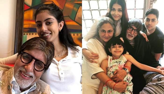 Amitabh Bachchan Posts A Picture With Grandchildren, Navya, Agastya And Aaradhya, Wishes New Year