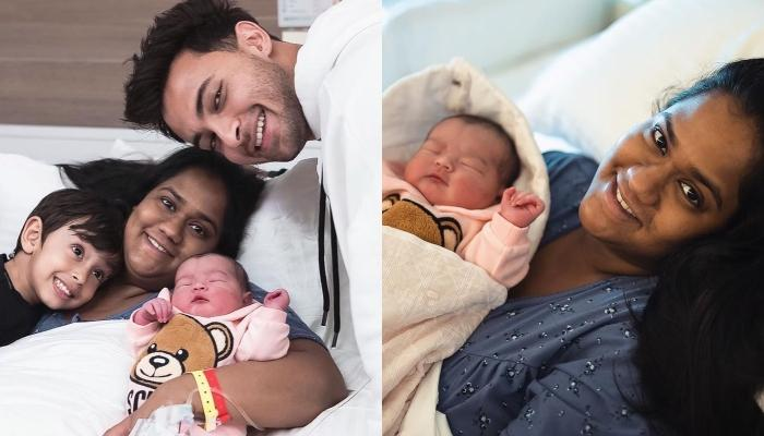 Arpita Khan Sharma Shares A Cute Cuddling Picture With Newborn Daughter, Ayat And Son, Ahil