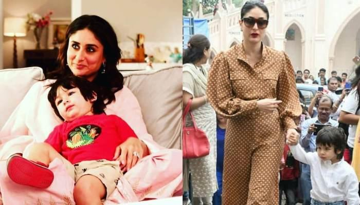 Taimur Ali Khan Twinning In Red With Mommy, Kareena Kapoor In Holiday Pictures Is Winning Hearts