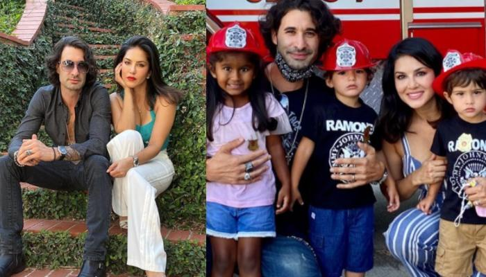 Sunny Leone, Daniel Weber And Kids Dress Up For Halloween, Their Colourful Attires Are Visual Treat