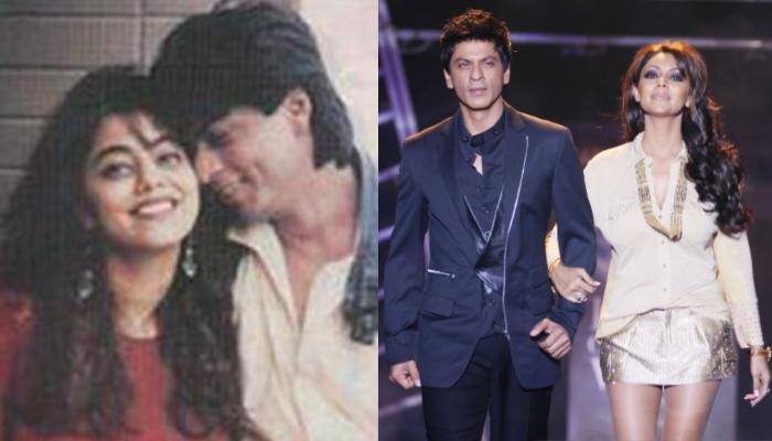 Unseen Photo Of Shah Rukh Khan And Gauri Khan As She Flaunts Mangalsutra-Chooda On Wedding Reception