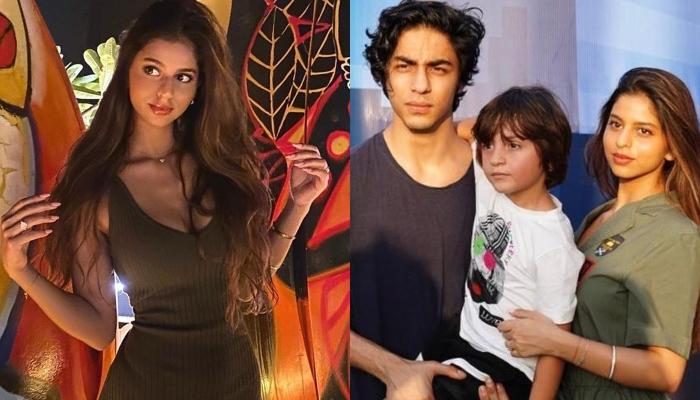 Aryan Khan Won't Let His Sister, Suhana Khan Post A Cute Family Picture, The Latter Finds A Way