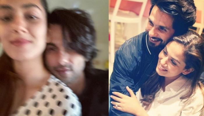 Shahid Kapoor Gets Trolled For Sharing A 'Blur' Picture With Wife, Mira Kapoor As A 'Miss You' Post